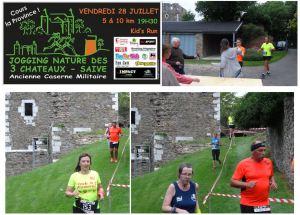 jogging 3 châteaux